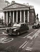 London Exchange Framed Print