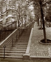 Steps of Montmartre by Christopher Bliss - various sizes