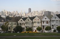Painted Ladies San Franciso 1 Fine Art Print