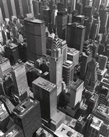 Chrysler Building And Midtown Manhattan Fine Art Print