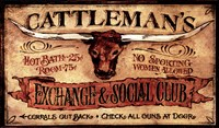 Cattlemans Fine Art Print