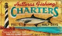 Hatteras Charters Fine Art Print