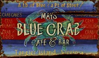 Blue Crab by Red Horse Signs - various sizes - $25.99