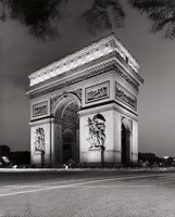 Arc de Triomphe Paris Framed Print