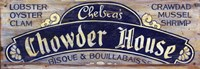Chowder House by Red Horse Signs - various sizes