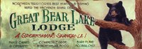 Great Bear by Red Horse Signs - various sizes - $26.49