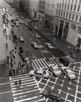 Aerial View 5th Ave NYC by Christopher Bliss - various sizes