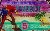 Parrot Lounge Fine Art Print
