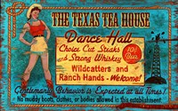 Texas Tea by Red Horse Signs - various sizes - $36.99