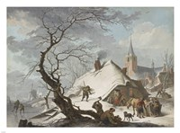 A Winter Scene Fine Art Print