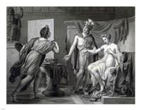 Alexander Ceding Campaspe to Apelles Fine Art Print