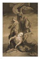 Lamentation at the Foot of the Cross Fine Art Print