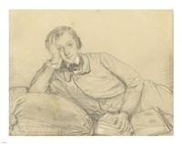 Portrait of Raymond de Magnoncourt Fine Art Print