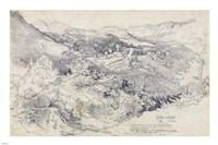 View from Civitella Fine Art Print