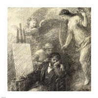 The Discouraged Artist by Henri Fantin-Latour - various sizes