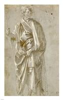 Standing Saint Fine Art Print