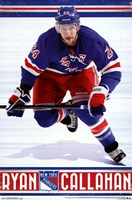 "22"" x 34"" New York Rangers"