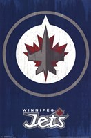 Winnipeg Jets - Logo 13 Wall Poster