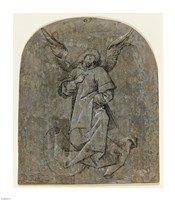Study of an Angel by Mair von Landshut - various sizes