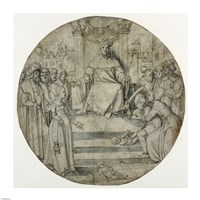 The Judgment of Solomon Fine Art Print