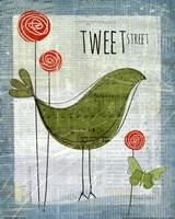 Tweet Street Fine Art Print
