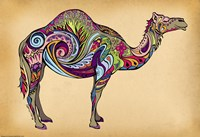Camel by Green Girl Canvas - various sizes