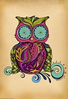 Owl by Green Girl Canvas - various sizes
