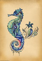 Seahorse by Green Girl Canvas - various sizes