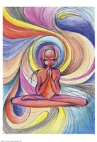 Yoga Burst Fine Art Print