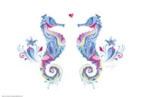 Sea Horses in Love Fine Art Print