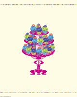 Cupcake Table Fine Art Print