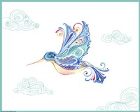 Jane Hummingbird Fine Art Print