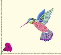 Hummingbird by Green Girl Canvas - various sizes