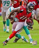 Julio Jones 2013 Action Fine Art Print