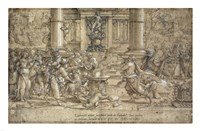 The Sacrifice at Lystra by Pieter Coecke van Aelst - various sizes