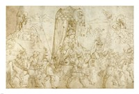 A Turkish Procession Fine Art Print