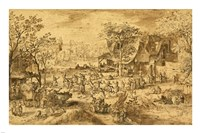 Peasant Kermis by David Vinckboons - various sizes - $27.99