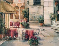 Plaza Cafe by Marilyn Hageman - various sizes