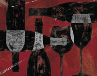Wine Selection III Red by Daphne Brissonnet - various sizes