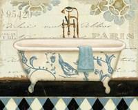 Marche de Fleurs Bath II by Lisa Audit - various sizes