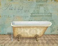 Voyage Romantique Bath I by Daphne Brissonnet - various sizes
