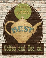 Best Coffee and Tea Fine Art Print