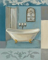Antique Bath I Fine Art Print