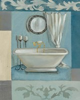 Antique Bath II Fine Art Print
