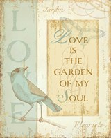 Secret Garden I by Daphne Brissonnet - various sizes