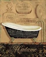Bain de Madame Framed Print