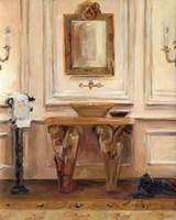 Classical Bath I Framed Print