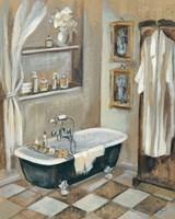 French Bath III Fine Art Print