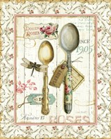 Rose Garden Utensils II Fine Art Print