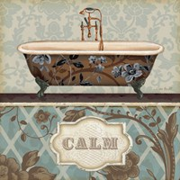 Bathroom Bliss II Fine Art Print